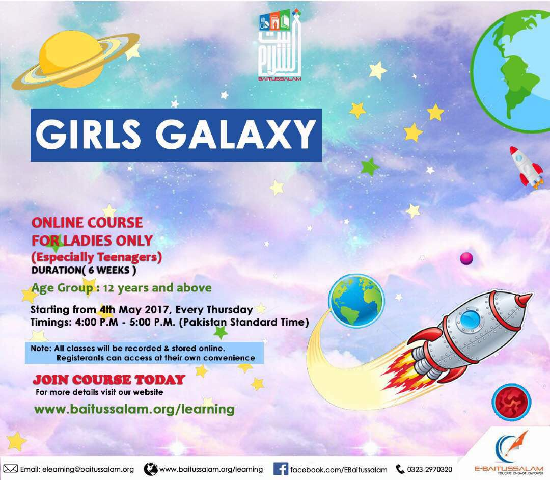 Girls Galaxy (In ENGLISH)